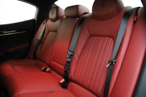 New 2021 Maserati Ghibli S Q4 GranLusso for sale Sold at Alfa Romeo of Greenwich in Greenwich CT 06830 19