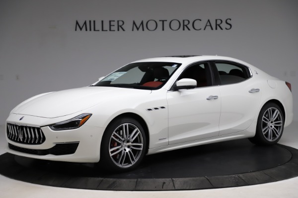 New 2021 Maserati Ghibli S Q4 GranLusso for sale $95,835 at Alfa Romeo of Greenwich in Greenwich CT 06830 2
