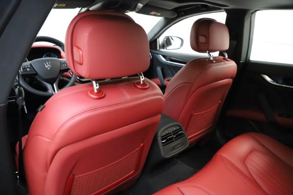 New 2021 Maserati Ghibli S Q4 GranLusso for sale Sold at Alfa Romeo of Greenwich in Greenwich CT 06830 21