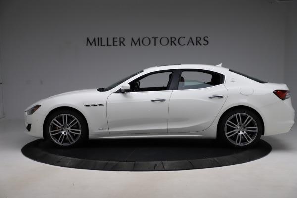 New 2021 Maserati Ghibli S Q4 GranLusso for sale Sold at Alfa Romeo of Greenwich in Greenwich CT 06830 3