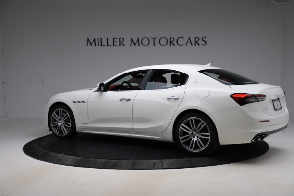 New 2021 Maserati Ghibli S Q4 GranLusso for sale $95,835 at Alfa Romeo of Greenwich in Greenwich CT 06830 4