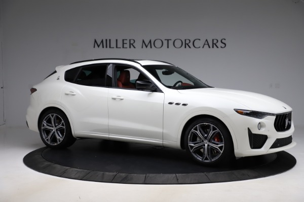 New 2021 Maserati Levante GTS for sale $140,585 at Alfa Romeo of Greenwich in Greenwich CT 06830 10