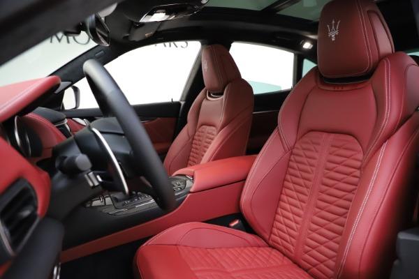 New 2021 Maserati Levante GTS for sale $140,585 at Alfa Romeo of Greenwich in Greenwich CT 06830 15