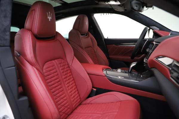 New 2021 Maserati Levante GTS for sale $140,585 at Alfa Romeo of Greenwich in Greenwich CT 06830 21