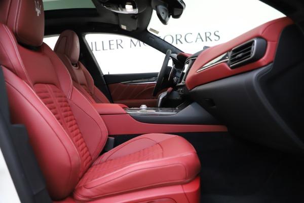 New 2021 Maserati Levante GTS for sale $140,585 at Alfa Romeo of Greenwich in Greenwich CT 06830 22