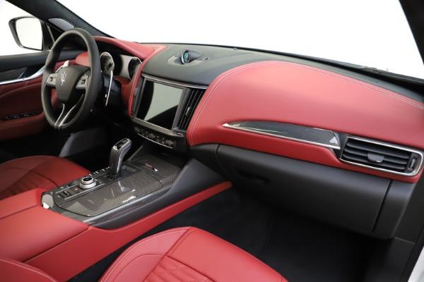 New 2021 Maserati Levante GTS for sale $140,585 at Alfa Romeo of Greenwich in Greenwich CT 06830 23
