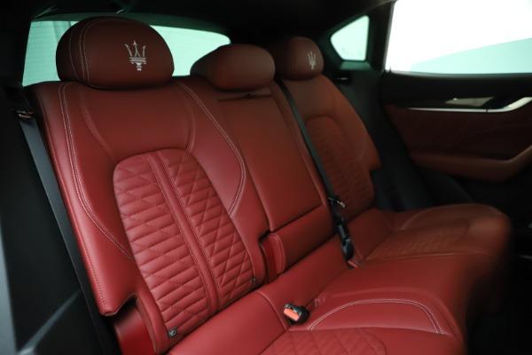 New 2021 Maserati Levante GTS for sale $140,585 at Alfa Romeo of Greenwich in Greenwich CT 06830 24