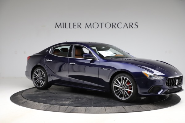 New 2021 Maserati Ghibli S Q4 for sale $90,925 at Alfa Romeo of Greenwich in Greenwich CT 06830 10