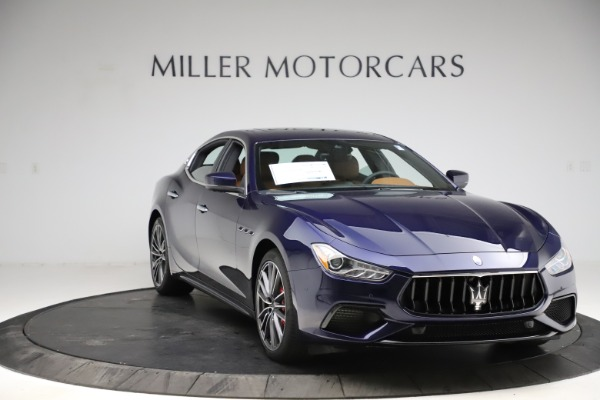 New 2021 Maserati Ghibli S Q4 for sale $90,925 at Alfa Romeo of Greenwich in Greenwich CT 06830 11