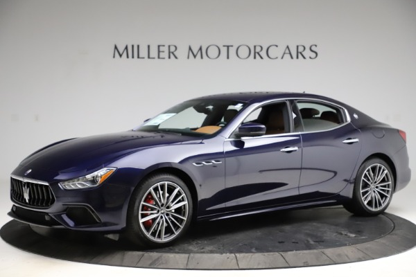 New 2021 Maserati Ghibli S Q4 for sale $90,925 at Alfa Romeo of Greenwich in Greenwich CT 06830 2