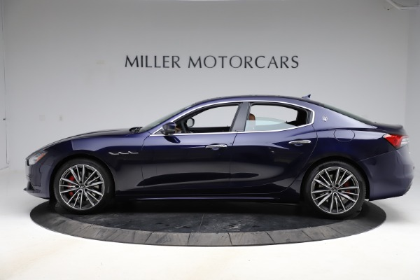New 2021 Maserati Ghibli S Q4 for sale $90,925 at Alfa Romeo of Greenwich in Greenwich CT 06830 3