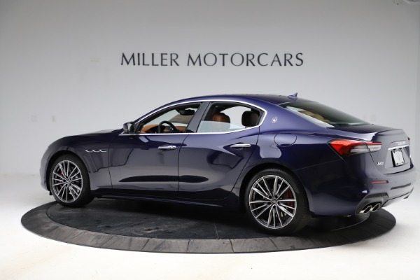 New 2021 Maserati Ghibli S Q4 for sale $90,925 at Alfa Romeo of Greenwich in Greenwich CT 06830 4