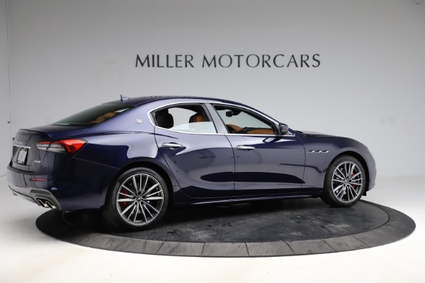 New 2021 Maserati Ghibli S Q4 for sale $90,925 at Alfa Romeo of Greenwich in Greenwich CT 06830 8