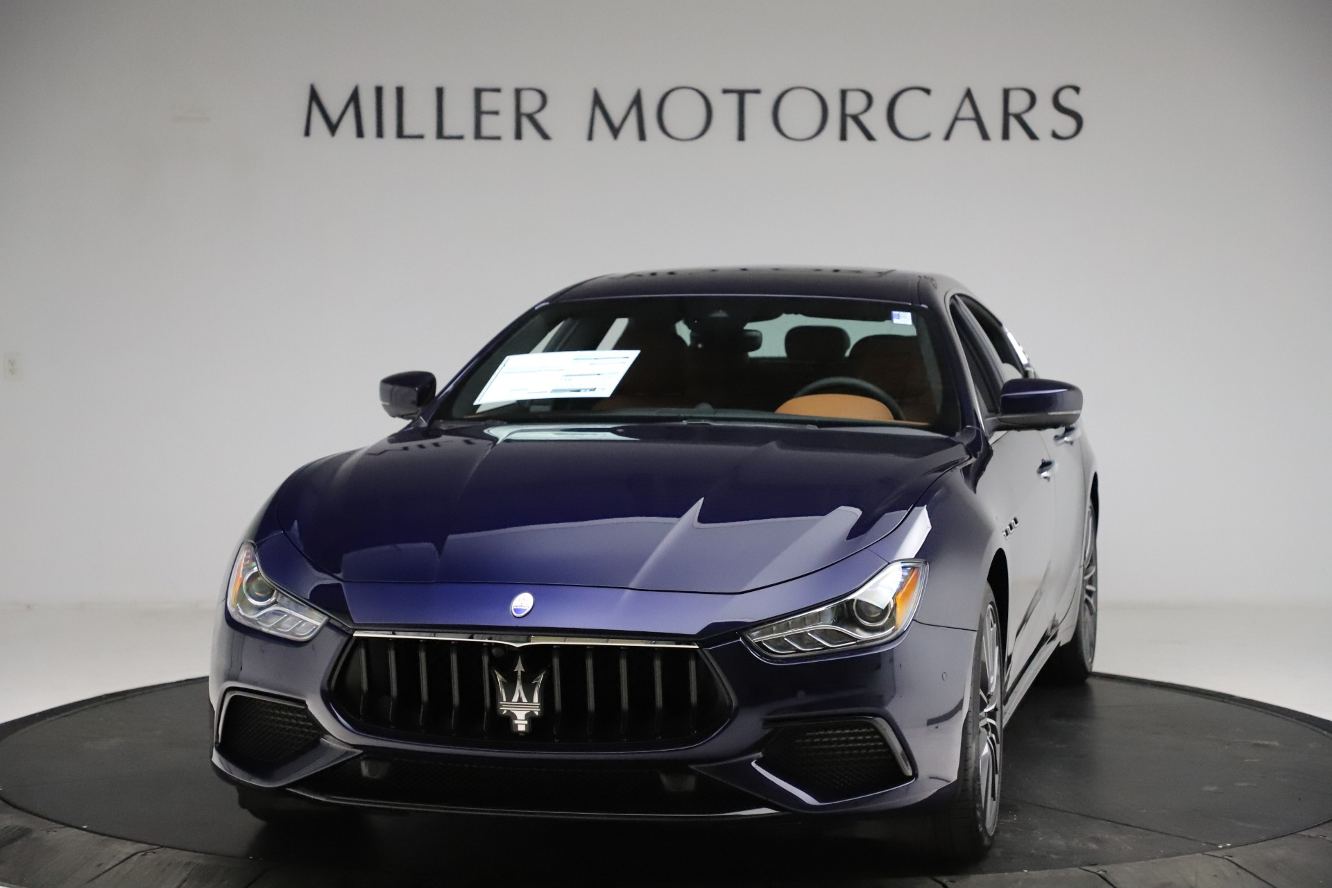 New 2021 Maserati Ghibli S Q4 for sale $90,925 at Alfa Romeo of Greenwich in Greenwich CT 06830 1