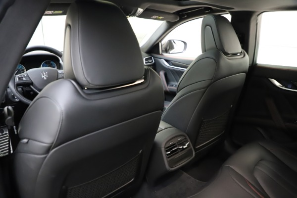 New 2021 Maserati Ghibli S Q4 GranSport for sale $98,035 at Alfa Romeo of Greenwich in Greenwich CT 06830 22