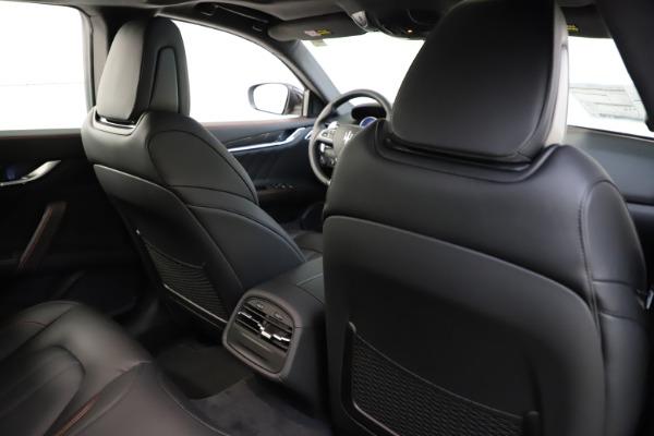 New 2021 Maserati Ghibli S Q4 GranSport for sale $98,035 at Alfa Romeo of Greenwich in Greenwich CT 06830 28