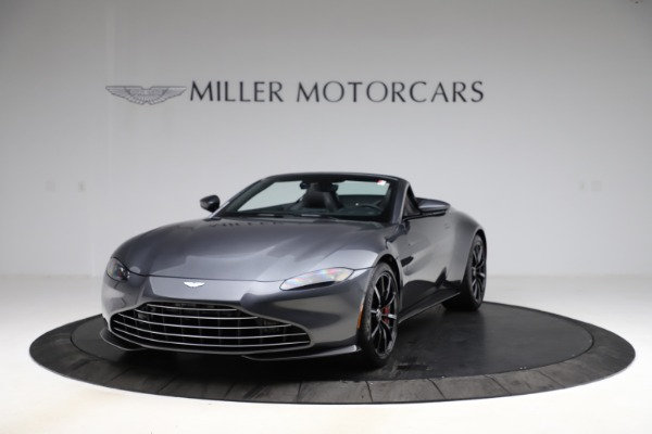 New 2021 Aston Martin Vantage Roadster Convertible for sale Sold at Alfa Romeo of Greenwich in Greenwich CT 06830 12