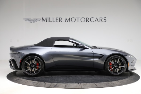 New 2021 Aston Martin Vantage Roadster Convertible for sale Sold at Alfa Romeo of Greenwich in Greenwich CT 06830 19