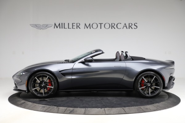 New 2021 Aston Martin Vantage Roadster Convertible for sale Sold at Alfa Romeo of Greenwich in Greenwich CT 06830 2