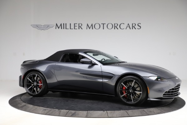 New 2021 Aston Martin Vantage Roadster Convertible for sale Sold at Alfa Romeo of Greenwich in Greenwich CT 06830 20