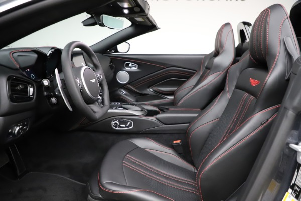 New 2021 Aston Martin Vantage Roadster Convertible for sale Sold at Alfa Romeo of Greenwich in Greenwich CT 06830 21