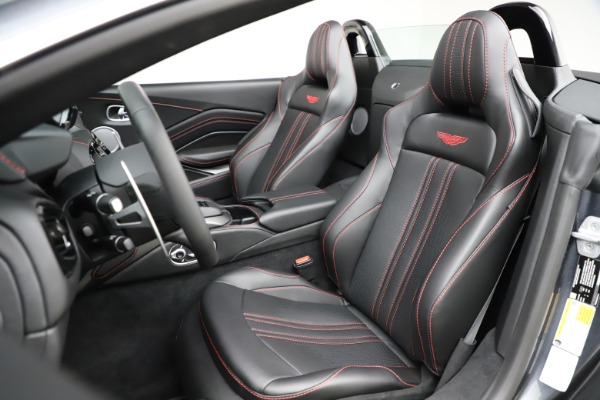 New 2021 Aston Martin Vantage Roadster Convertible for sale Sold at Alfa Romeo of Greenwich in Greenwich CT 06830 23