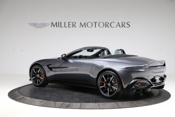 New 2021 Aston Martin Vantage Roadster Convertible for sale Sold at Alfa Romeo of Greenwich in Greenwich CT 06830 3