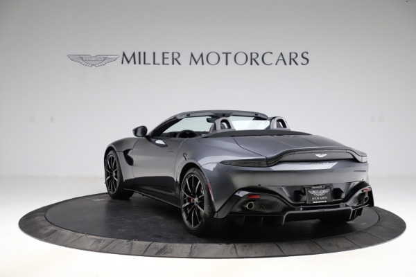 New 2021 Aston Martin Vantage Roadster Convertible for sale Sold at Alfa Romeo of Greenwich in Greenwich CT 06830 4