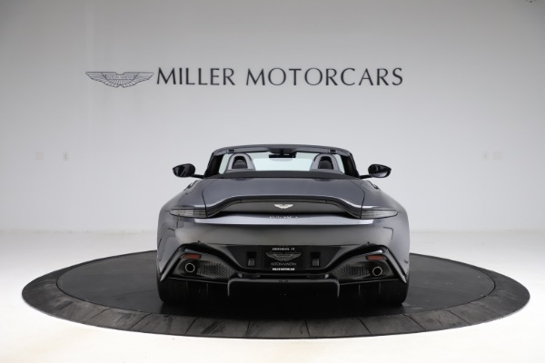New 2021 Aston Martin Vantage Roadster Convertible for sale Sold at Alfa Romeo of Greenwich in Greenwich CT 06830 5