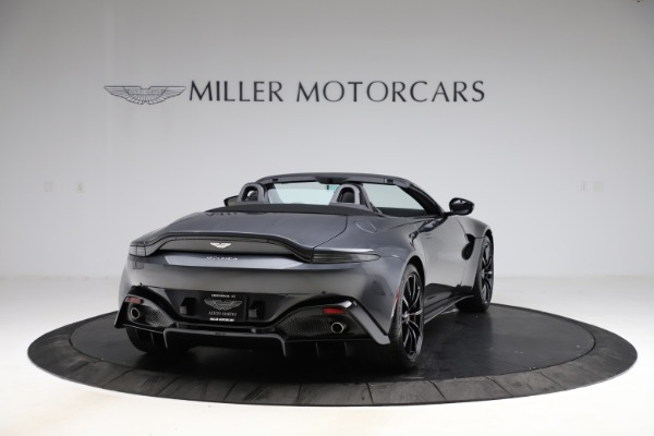 New 2021 Aston Martin Vantage Roadster Convertible for sale Sold at Alfa Romeo of Greenwich in Greenwich CT 06830 6
