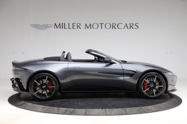 New 2021 Aston Martin Vantage Roadster Convertible for sale Sold at Alfa Romeo of Greenwich in Greenwich CT 06830 8