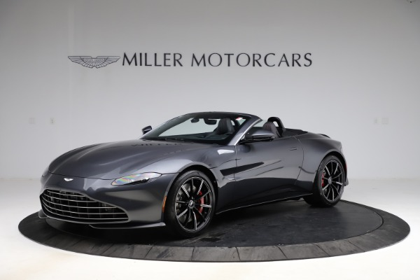 New 2021 Aston Martin Vantage Roadster Convertible for sale Sold at Alfa Romeo of Greenwich in Greenwich CT 06830 1