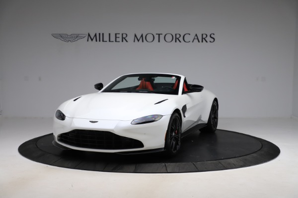 New 2021 Aston Martin Vantage Roadster Convertible for sale $189,186 at Alfa Romeo of Greenwich in Greenwich CT 06830 12