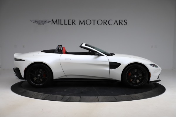 New 2021 Aston Martin Vantage Roadster Convertible for sale $189,186 at Alfa Romeo of Greenwich in Greenwich CT 06830 8