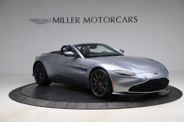 New 2021 Aston Martin Vantage Roadster Convertible for sale Sold at Alfa Romeo of Greenwich in Greenwich CT 06830 10