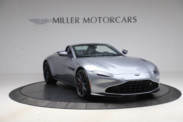 New 2021 Aston Martin Vantage Roadster Convertible for sale Sold at Alfa Romeo of Greenwich in Greenwich CT 06830 11