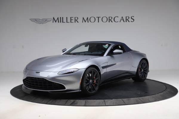 New 2021 Aston Martin Vantage Roadster Convertible for sale Sold at Alfa Romeo of Greenwich in Greenwich CT 06830 15