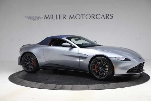 New 2021 Aston Martin Vantage Roadster Convertible for sale Sold at Alfa Romeo of Greenwich in Greenwich CT 06830 18