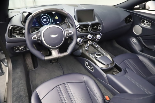 New 2021 Aston Martin Vantage Roadster Convertible for sale Sold at Alfa Romeo of Greenwich in Greenwich CT 06830 22