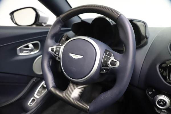 New 2021 Aston Martin Vantage Roadster Convertible for sale Sold at Alfa Romeo of Greenwich in Greenwich CT 06830 26