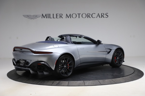 New 2021 Aston Martin Vantage Roadster Convertible for sale Sold at Alfa Romeo of Greenwich in Greenwich CT 06830 7