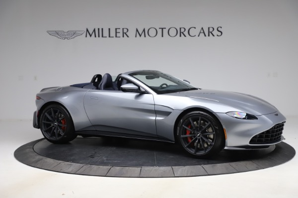 New 2021 Aston Martin Vantage Roadster Convertible for sale Sold at Alfa Romeo of Greenwich in Greenwich CT 06830 9