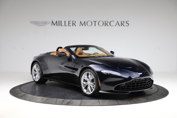 New 2021 Aston Martin Vantage Roadster Convertible for sale $205,686 at Alfa Romeo of Greenwich in Greenwich CT 06830 10
