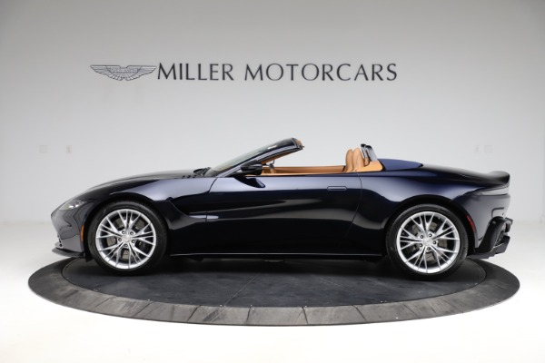 New 2021 Aston Martin Vantage Roadster Convertible for sale $205,686 at Alfa Romeo of Greenwich in Greenwich CT 06830 2