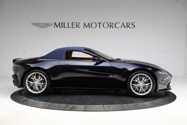 New 2021 Aston Martin Vantage Roadster Convertible for sale $205,686 at Alfa Romeo of Greenwich in Greenwich CT 06830 22