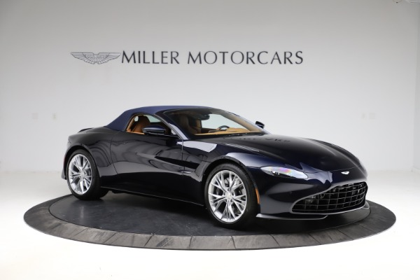 New 2021 Aston Martin Vantage Roadster Convertible for sale $205,686 at Alfa Romeo of Greenwich in Greenwich CT 06830 23