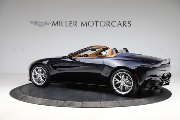 New 2021 Aston Martin Vantage Roadster Convertible for sale $205,686 at Alfa Romeo of Greenwich in Greenwich CT 06830 3