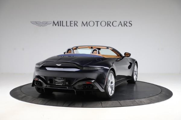 New 2021 Aston Martin Vantage Roadster Convertible for sale $205,686 at Alfa Romeo of Greenwich in Greenwich CT 06830 6