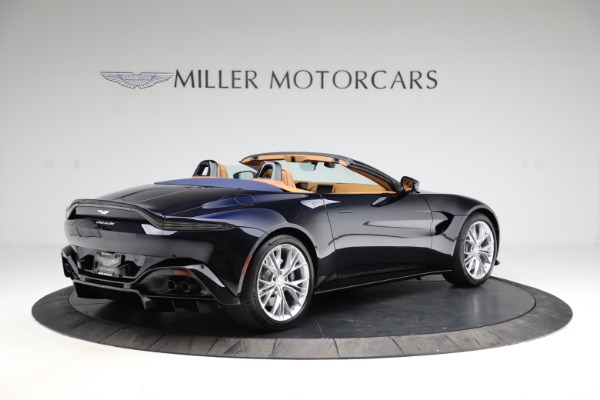 New 2021 Aston Martin Vantage Roadster Convertible for sale $205,686 at Alfa Romeo of Greenwich in Greenwich CT 06830 7