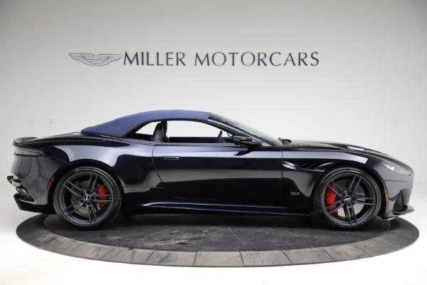New 2021 Aston Martin DBS Superleggera Volante Convertible for sale $402,286 at Alfa Romeo of Greenwich in Greenwich CT 06830 12